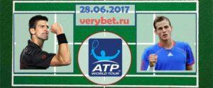 Джокович - Поспишил 28 июня