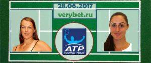Павлюченкова - Уотсон 28 июня