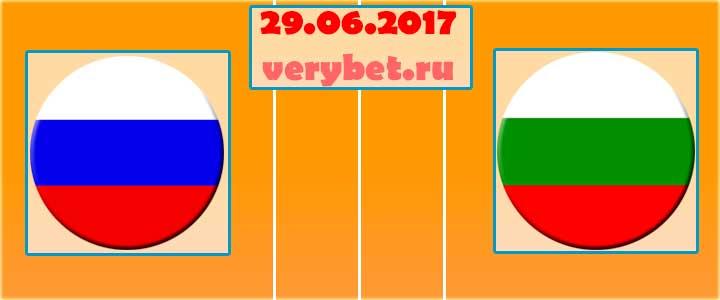 Россия (Ж) - Болгария (Ж)