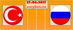 Турция (Ж) - Россия (Ж) прогноз 27.06.2017