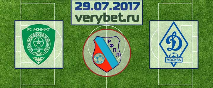 Ахмат - Динамо Москва 29 июля