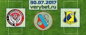 Амкар - Ростов 30 июля
