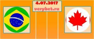 Волейбол: Бразилия - Канада 04.07.2017