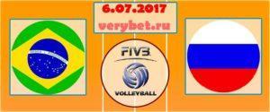 Прогноз на матч Бразилия - Россия 6 июля
