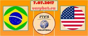 Прогноз на матч Бразилия - США 7 июля