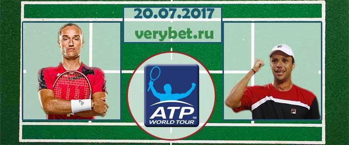 Долгополов - Себальос 20.07.2017 прогноз