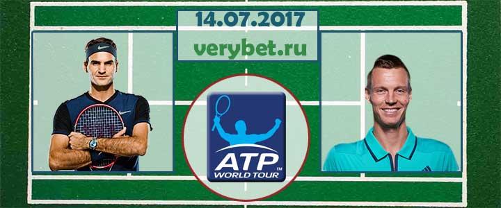 Прогноз на матч Федерер - Бердых 14 июля