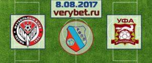 Амкар - Уфа 8 августа