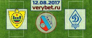 Анжи - Динамо 12.08.2017