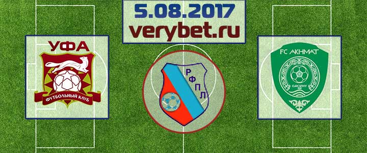 Уфа - Ахмат 5 августа