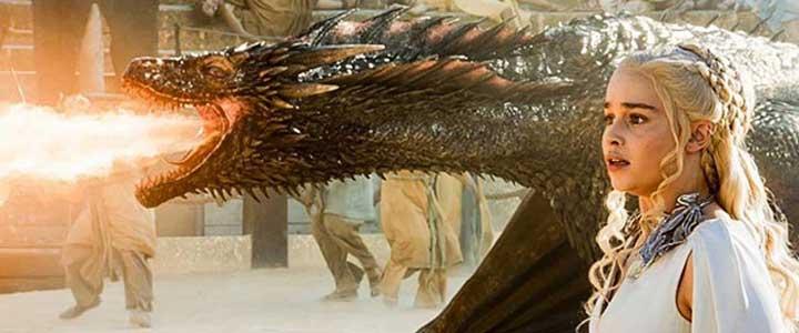 Дейенерис и дракон