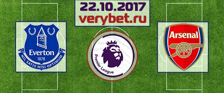 Эвертон - Арсенал 22 октября