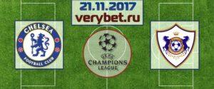 Карабах – Челси 22 ноября 2017