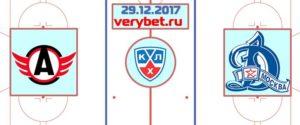 Автомобилист - Динамо Москва 29 декабря 2017 прогноз