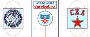 Динамо Минск - СКА 29 декабря 2017 прогноз