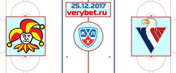 Йокерит - Слован Братислава 26 декабря 2017 прогноз