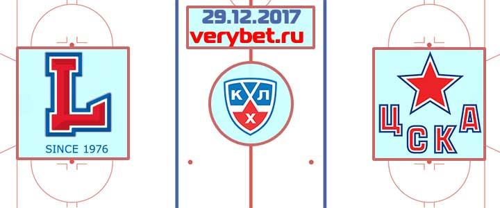 Лада - ЦСКА 29 декабря 2017 прогноз