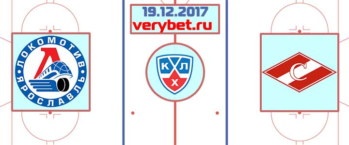 Локомотив - Спартак Москва 19 12 2017 прогноз
