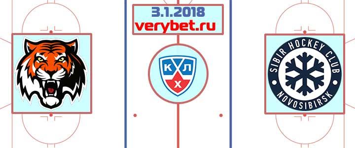 Амур - Сибирь 3 января 2018 прогноз