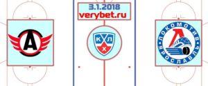 Автомобилист - Локомотив 3 января 2018 прогноз