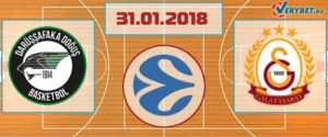 Дарюшшафака – Галатасарай 31 января 2018 прогноз