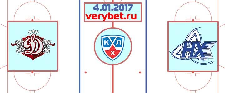 Динамо Рига - Нефтехимик 4 января 2018 прогноз