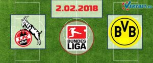 Кельн - Боруссия Дортмунд 2 февраля 2018 прогноз