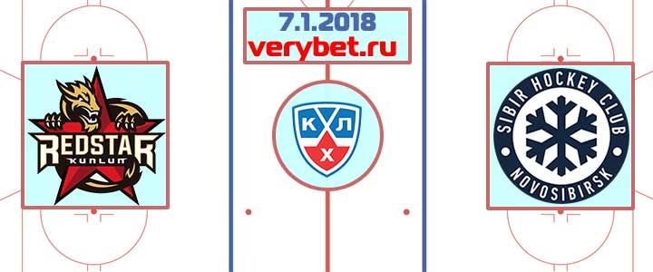 Куньлунь РС - Сибирь 7 января 2018 прогноз