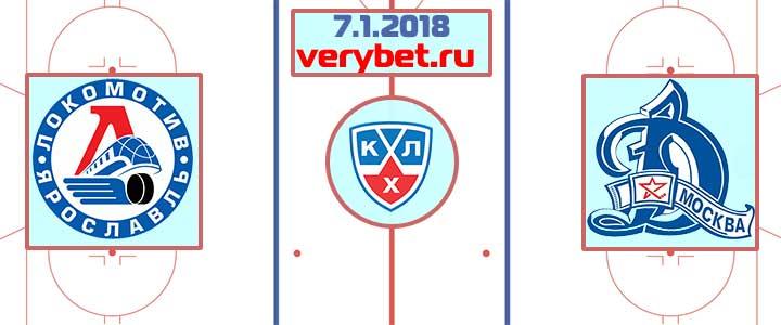 Локомотив - Динамо Москва 7 января 2018 прогноз