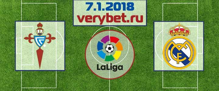 Сельта - Реал Мадрид 7 января 2018 прогноз