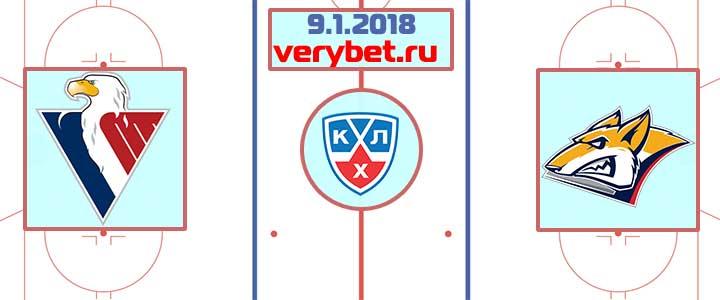 Слован Братислава - Металлург Магнитогорск 9 января 2018 прогноз