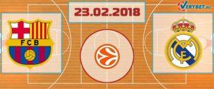Барселона – Реал Мадрид 23 февраля 2018 прогноз