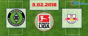 Боруссия Менхенгладбах - Лейпциг 3 февраля 2018 прогноз