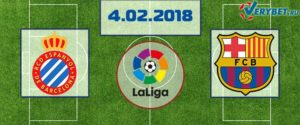 Эспаньол - Барселона 4 февраля 2018 прогноз