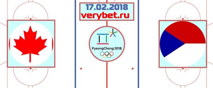 Канада – Чехия 17 февраля 2018 прогноз