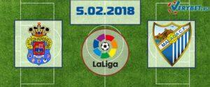 Лас-Пальмас - Малага 5 февраля 2018 прогноз