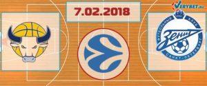 Торино – Зенит 7 февраля 2018 прогноз