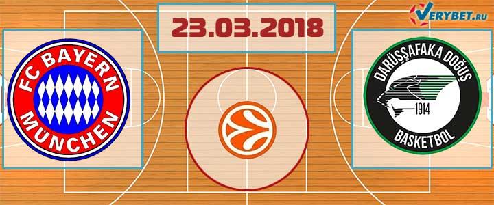 Бавария – Дарюшшафака 23 марта 2018 прогноз