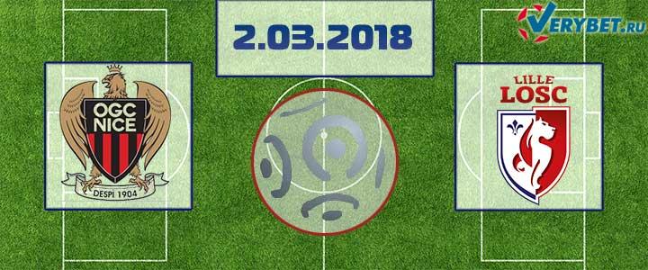 Ницца - Лилль 2 марта 2018 прогноз