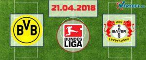 Боруссия Дортмунд – Байер 21 апреля 2018 прогноз