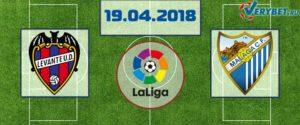 Леванте – Малага 19 апреля 2018 прогноз