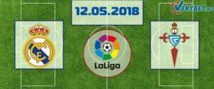 Реал Мадрид – Сельта 12 мая 2018 прогноз