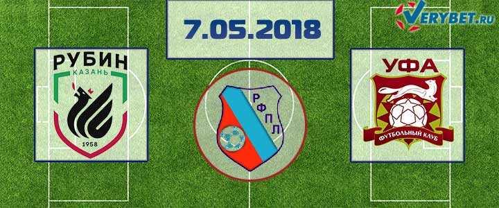 Рубин – Уфа 7 мая 2018 прогноз