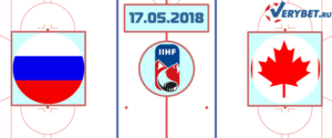 Россия – Канада 17 мая 2018 прогноз