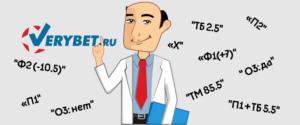 Обозначения ставок в букмекерских конторах