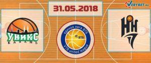 УНИКС – Нижний Новгород 31 мая 2018 прогноз
