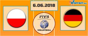 Польша – Германия 6 июня 2018 прогноз
