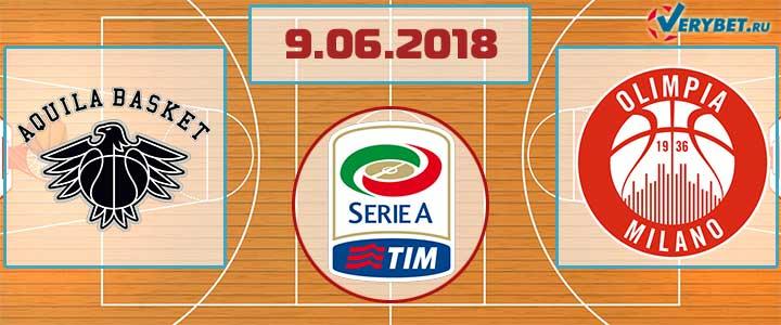 Тренто – Милано 9 июня 2018 прогноз