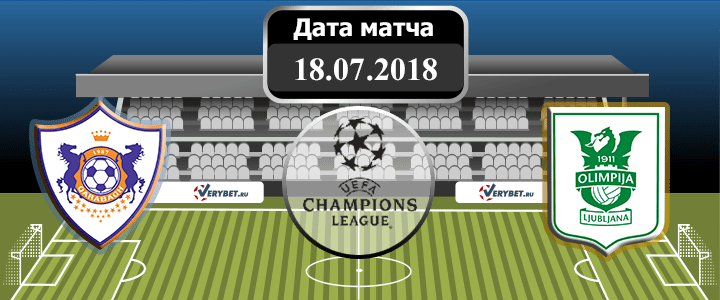 Карабах - Олимпия 18 июля 2018 прогноз