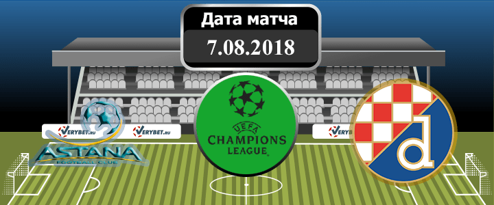 Астана – Динамо Загреб 7 августа 2018 прогноз